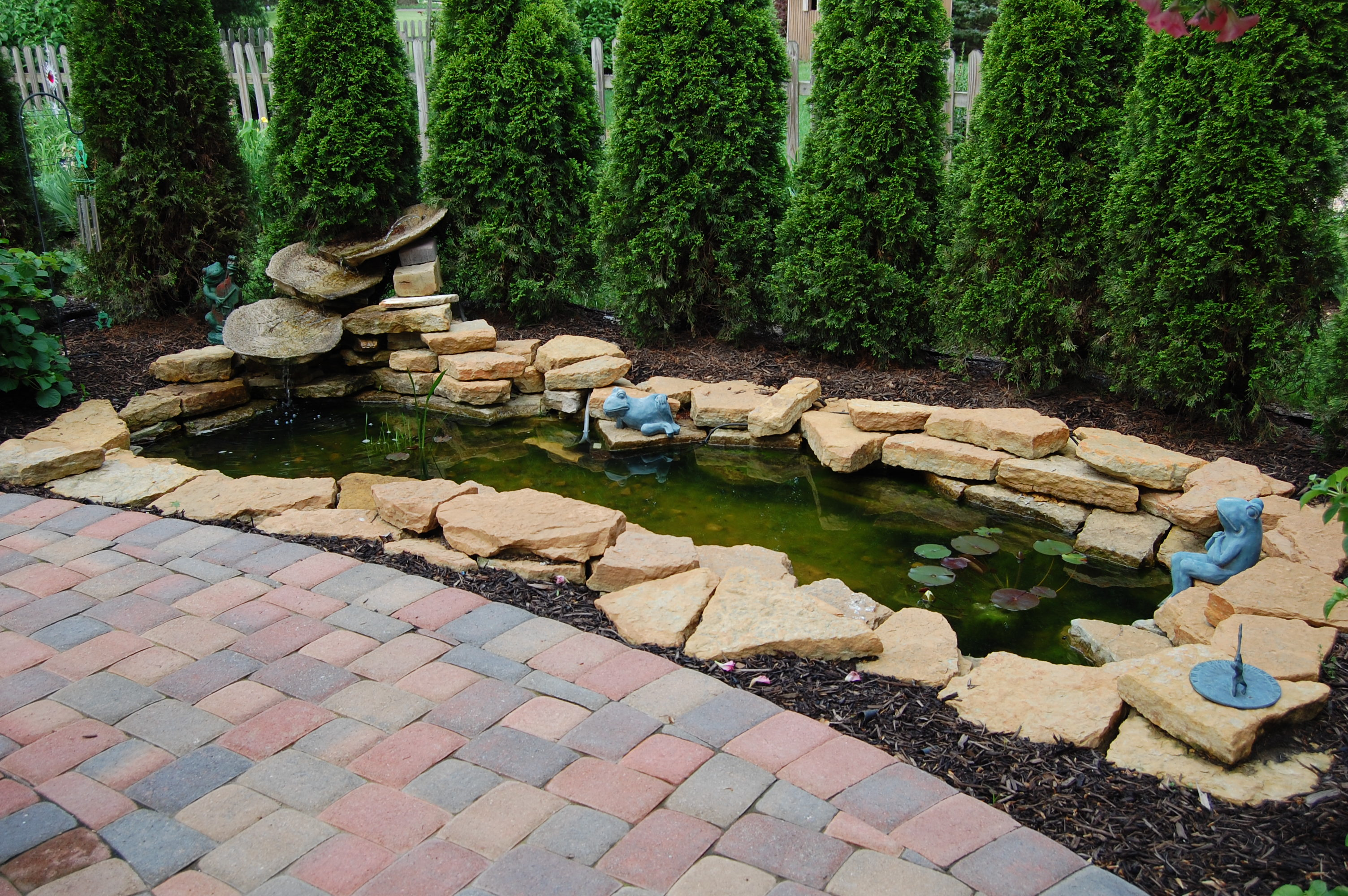 Small Frog Pond At Matthew Ave In Westerville