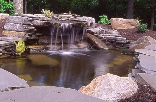 Waterfall & Pond In Circleville