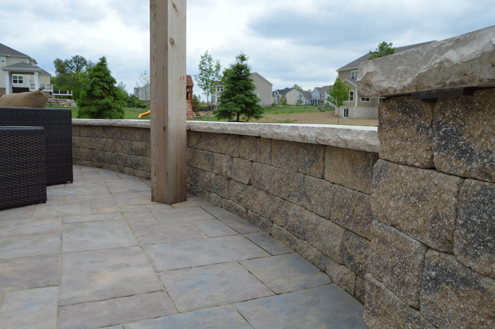 Outdoor Living Space At Olentangy Falls In Delaware