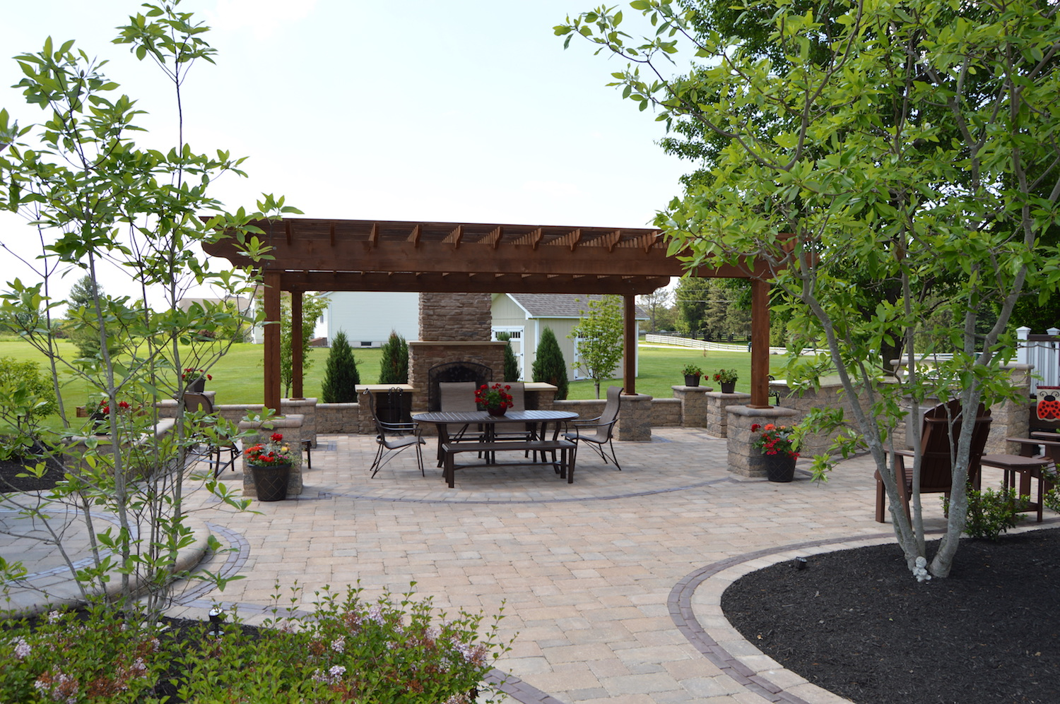 Outdoor Living At Horseshoe Rd. In Delaware County