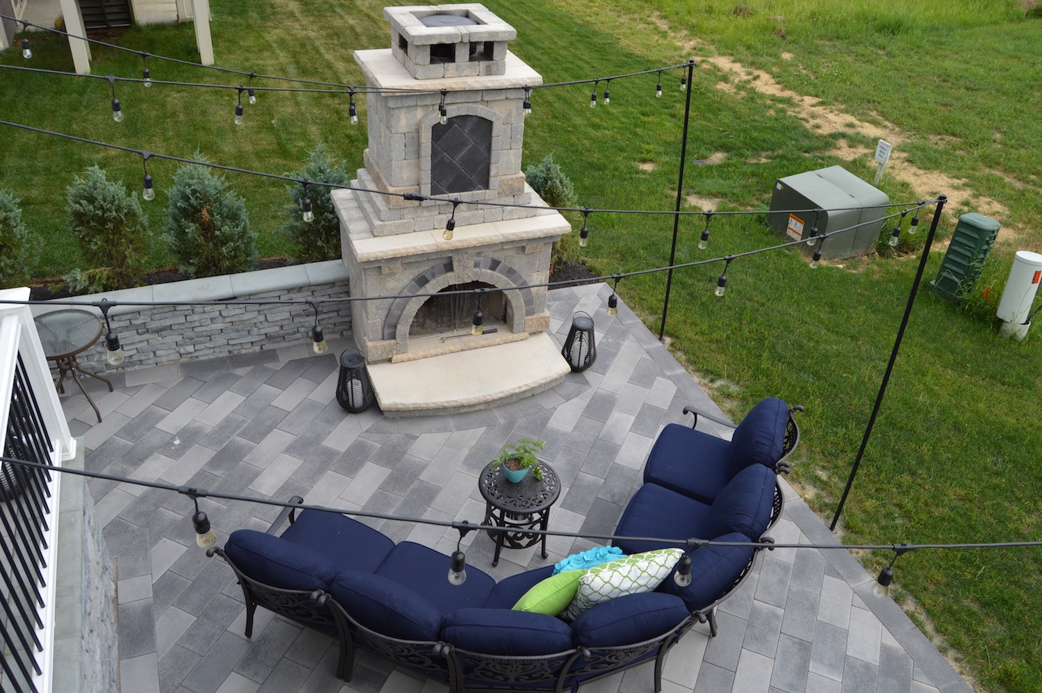 Outdoor Living At The Links In New Albany